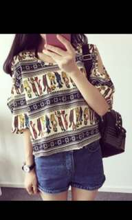 Ladies casual blouse
