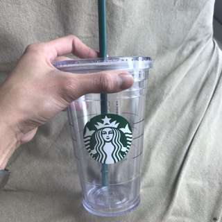 Authentic Starbucks Grande Sized Reusable Cup