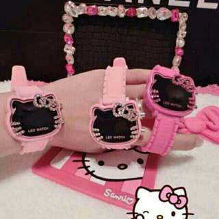 Hello Kitty Led Watch