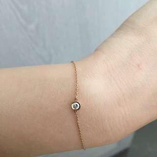 Authentic 4c Diamond 18k Bracelet