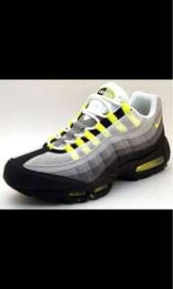 Nike Air Max 95 Classic LE – Grey / Neon Yellow