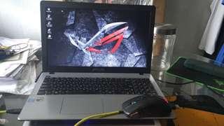 Laptop Gaming Bener Asus X550JX i7 GTX 950M Like ROG OMEN PREDATOR MSI ALIENWARE