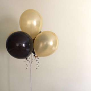 PEARL LATEX BALLOONS W HELIUM