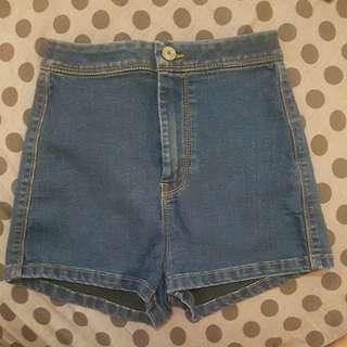 High Waist Shorts Pants