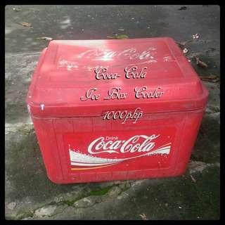 Coca Cola Large Icebox Cooler
