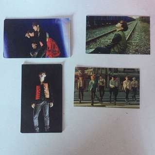 BTS unofficial Photocards kpop bangtan boys