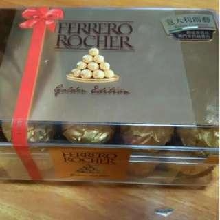 (正)金莎朱古力禮盒30粒裝FERRERO ROCHER 30pcs