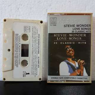 Cassette》Stevie Wonder - Love Songs 20 Classic Hits