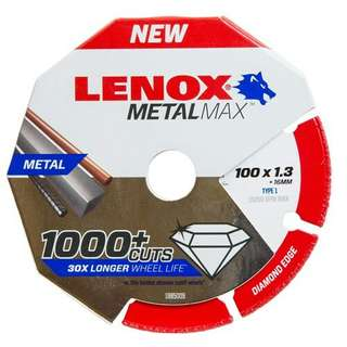 Lenox MetalMax 100mm x 1.3mm Cutting Disc