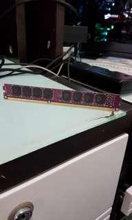 台式電腦內存條ADATA DDR3 1600mhz 4GB內存