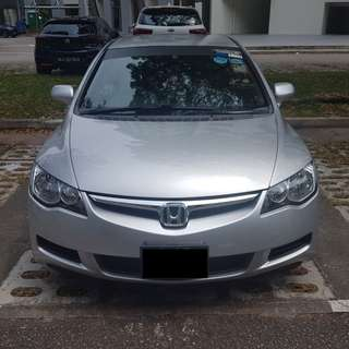 Honda Civic 1.6A for Rental (Short or long lease) / Good for Grab use