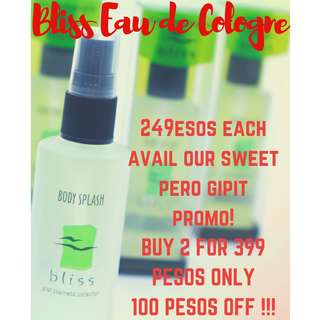BLISS COLOGNE / PURFUME