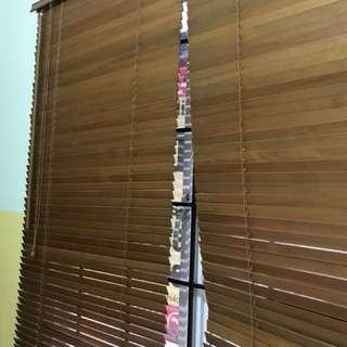 Kray jendela bambu