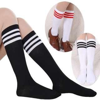 3 striped socks