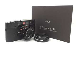 Leica M6 TTL Black Paint & 35mm F2 ASPH Black Paint