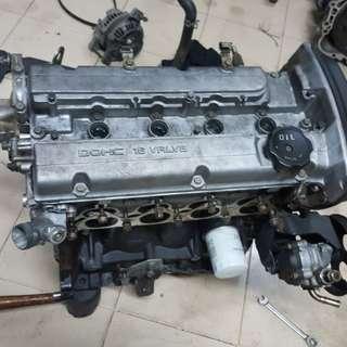 Engine kosong 4g93 n.a buka dari halfcut