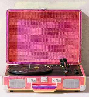 [Turntable] Crosley Rainbow Holographic Cruiser Bluetooth Record Player