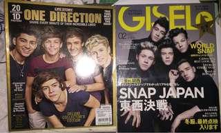 出清!$50兩本One direction雜誌