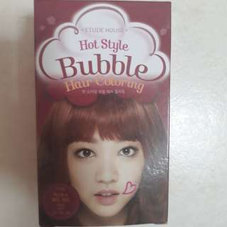 HOT STYLE BUBBLE HAIR COLOURING (WINE RED)