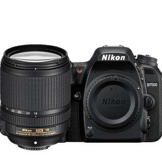 Nikon D7500 18-140 f/3.5-5.6G ED VR