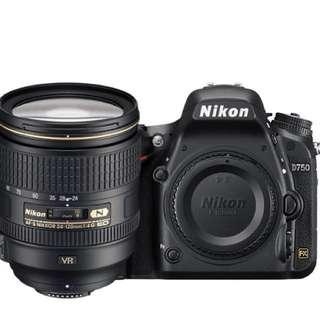 Nikon D750 24-120 f/4G ED VR