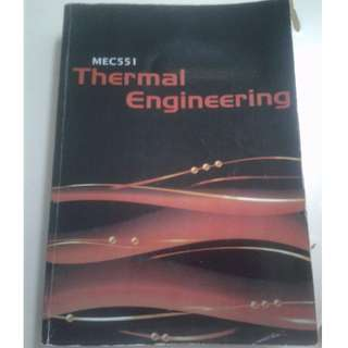 Thermal engineering textbook