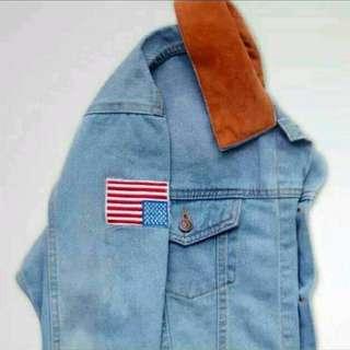 Jaket dilan jeans
