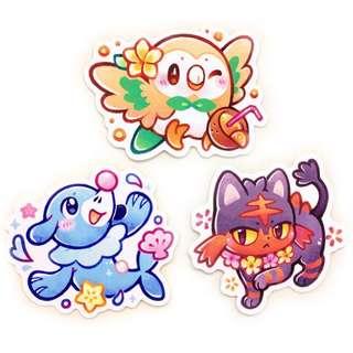 Pokémon Sticker Handmade