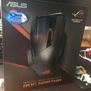 ASUS ROG SPATHA無線滑鼠 95%新