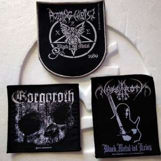 Band wooven patch