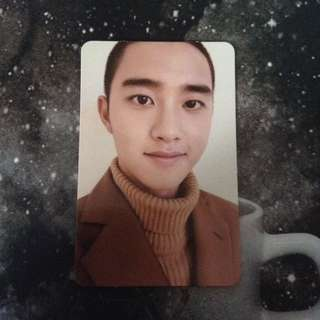 EXO DO (KYUNGSOO) UNIVERSE PHOTOCARD