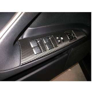 CAR INTERIOR CARBON FIBER  WRAP - INTERIOR PANEL WRAP
