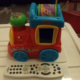Fisher Price train abc