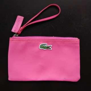 LACOSTE High Imitation Clutch Bag - Pink