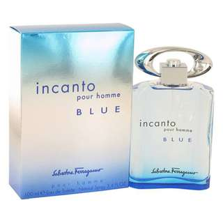 SALVATORE FERRAGAMO INCANTO BLUE POUR HOMME EDT FOR MEN (100ml)