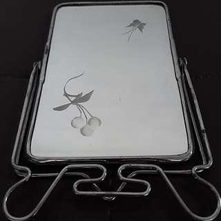 Vintage Tabletop Pearl Brand Mirror