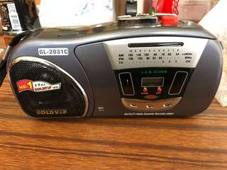 Radio Cassette Recorder Player
