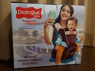 Dialogue baby hipseat carrier Emerald series