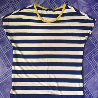 Stripe Blue Top for woman