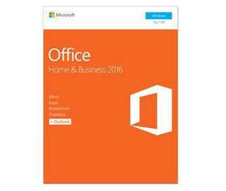 正版永久 買斷版 Microsoft Office 2016 Home and Business 數位版