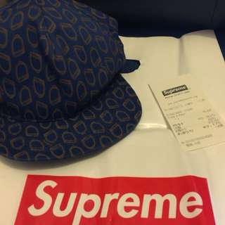 Supreme irons 5 panels Cap帽 有單 連原裝膠袋
