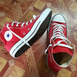 Converse All Star Chuck Taylor Color Red