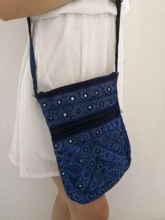 Simple Everyday Blue Bag