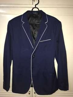 Navy Blue Coat from Thailand