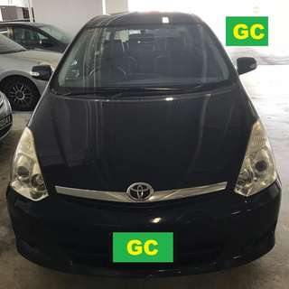 Toyota Wish CHEAPEST RENT FOR Grab/Uber