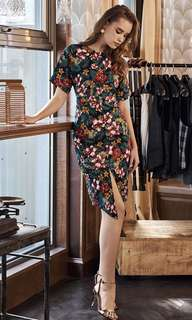 S Size BNWT Chijmes Floral Midi Dress (Theclosetlover)