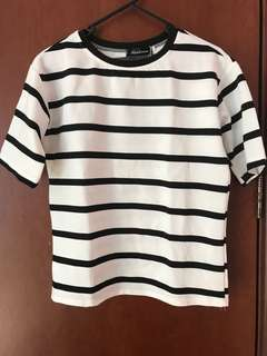 Striped Oversized Tshirt