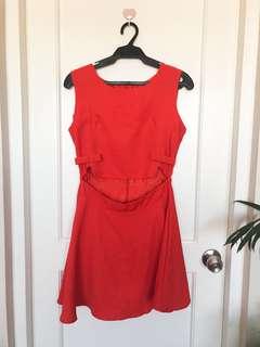 Orange dress 2
