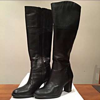 Authentic Merchant 1948 leather winter boots