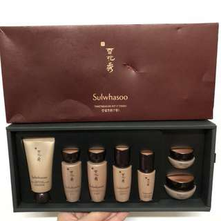 Sulwhasoo Timetreasure Kit (7 items) 雪花秀珍雪系列套裝